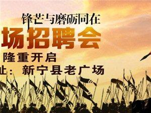 新宁县大型现场招聘会在8月20日老广场举行!!