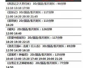 【影讯】8月18日&8月19日排期