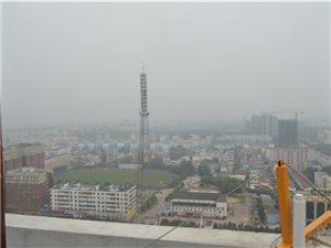 俯览全城,原来阴天的潢川是这样的!