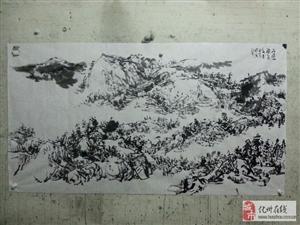 李允生写意山水画艺术欣赏