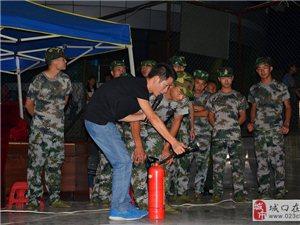 消防知识走进新生军营,寓教于乐传播安全火种