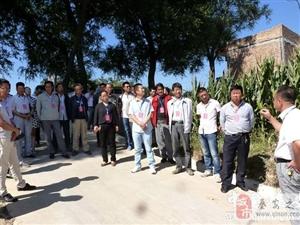 王窑乡组织市县乡人大代表视察全乡重点工作