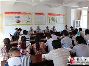 兴国镇组织人大代表开展重点工作视察活动