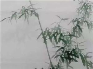 李景煜画竹艺术