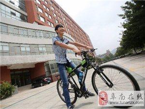 安庆小伙6天骑行800公里到山东大学报到(图)