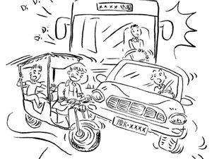 【今日关注】载客三轮横行,长葛出租车集体罢工