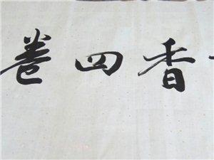 吕迎晨老师赠字画 两幅