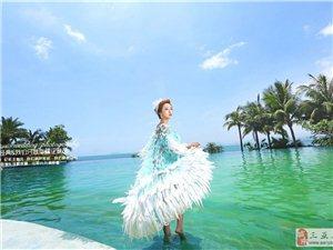 三亚旅游婚纱摄影准新娘如何选择婚纱