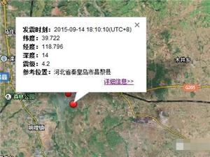 昌黎县13分钟发生两次有感地震,秦皇岛地震的前世今生,你不可不知!