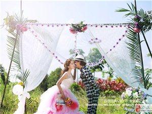 三亚时尚婚纱摄影季节更替如何拍好婚纱照