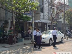 缅甸曼德勒严抓黑车 今年已抓获60辆黑车