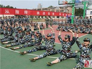 """山东高校军训 舞蹈系女生大秀""""一字马"""""""