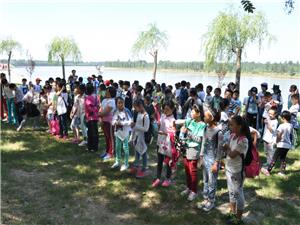 博兴在线小记者团采风第二站――打渔张森林公园