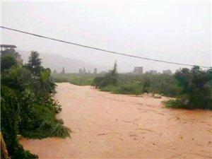 暴雨袭击后澄江北亭畲族村