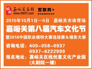 2015年嘉峪关第八届汽车文化节