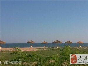 喜德盛俱乐部骑友骑行秦皇岛沿海拍到的美丽画面