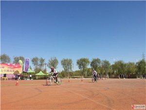 2015年9月26日参加嘉峪关自行车挑战赛见闻