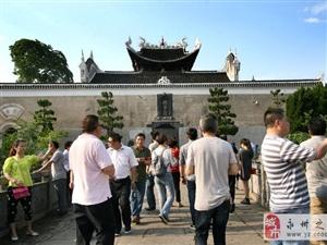 10月1日起零陵居民可凭身份证免费参观柳子庙