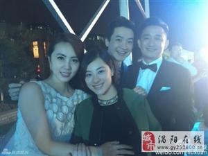 刘璇出席黄磊婚宴 挺八个多月大肚抢镜