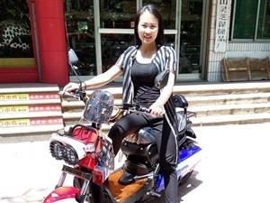 【最美老板娘】第一组第6名:小鸟电动车专卖店―――李霞