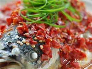 剁椒鱼头味道美美哒~