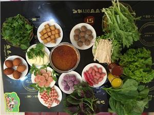 想吃自助火锅的就到咪味可可DIY泡吧来,百余种菜品任性吃!