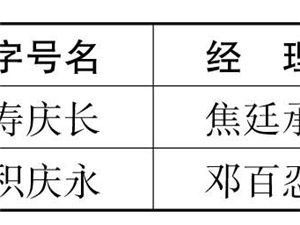 民国时期各行业字号一览表――咸阳在线连载【127】