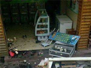 永利娱乐官网古城内发生恶性砸店打人事件
