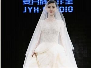 怎一个美字了得!王丽坤穿婚纱走秀!