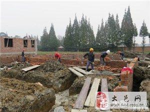 上安镇农民新居建设工程开工