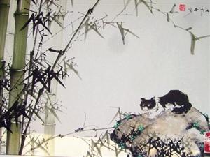 谁最擅长画竹?画家叶明山竹画欣赏