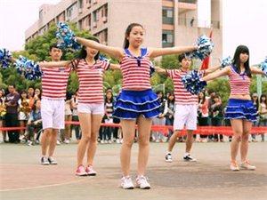 浦城县民主小学啦啦操表演