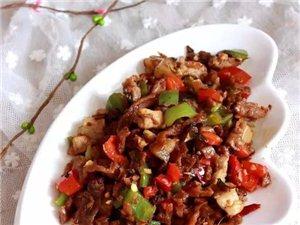 外婆菜做的美味菜肴