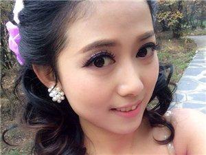 武汉专业新娘跟妆早妆上门服务团体妆舞台妆婚纱租凭 企业演讲