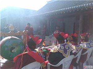 下府惠宁寺举办大型火供法会