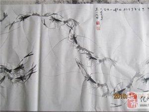 谁画的虾最受欢迎?史庆尧虾画作品欣赏