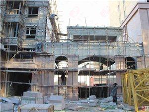 【小编看房】风中探访博大・领航国际,3#楼施工启动小区大门初见模型!