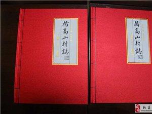 新县举行首部村志――《杨高山村志》发行仪式