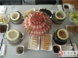 """【彭�墒���G色火�】�ひ�美食――�B生特色""""冬瓜盅""""火�【德川肥�!�"""