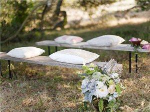 欧式创意婚礼 户外惊喜浪漫细节不断上演