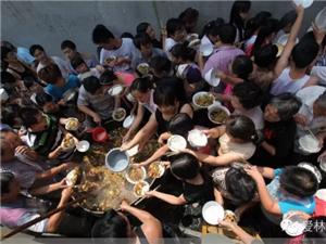 汤阴人你是否记得老家味道:大锅菜,大场面