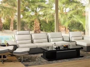 最容易搭配的沙发颜色——灰色