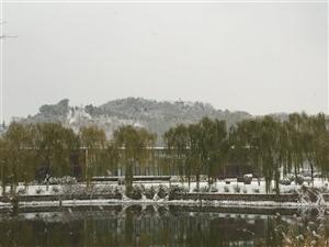 津城也有美丽的雪景