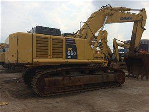 二手小松650-8挖掘�C 低�r�D�