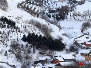 2016年1月8——10日吉林临江市花山镇松岭雪村结伴游玩