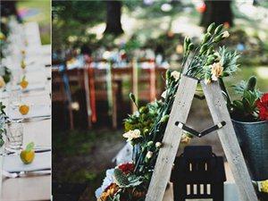 花园式婚礼,营造温馨的美好