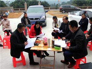 泸县旅游局到石桥镇调研道林沟景区开发工作