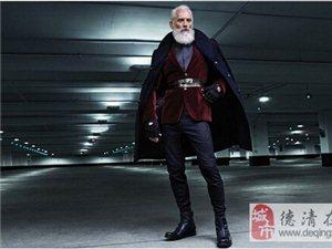 时尚版圣诞老人,那个可爱的老爷爷哪去了?