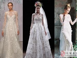 30款完美的带袖婚纱