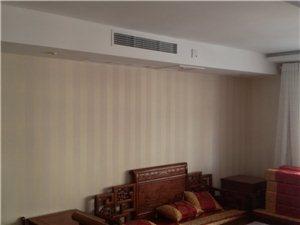 朋友家客厅安的中央空调很上档次